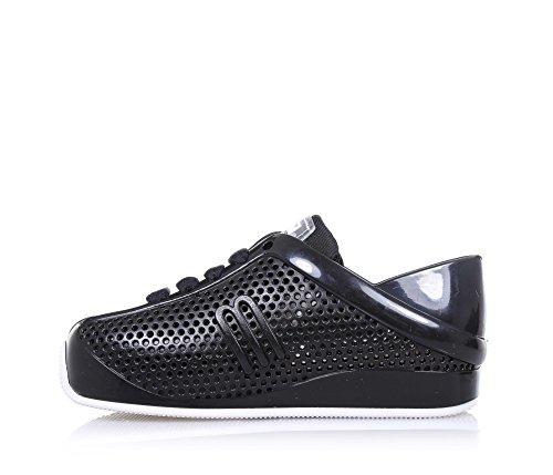 MINI MELISSA - Schwarzer Schuh aus MELFLEX-Plastik, duftendes Gummi, umweltfreundlich, ökologisch, extrem flexibel, Mädchen
