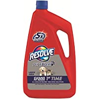 Resolve Pet Carpet Steam Cleaner Solution, 288 fl oz (6 Bottles x 48 oz), 2X Concentrate (Pack of 3)