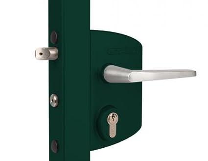 LOCINOX Cerradura industrial para perfiles cuadrados 40 a 60 mm en ...