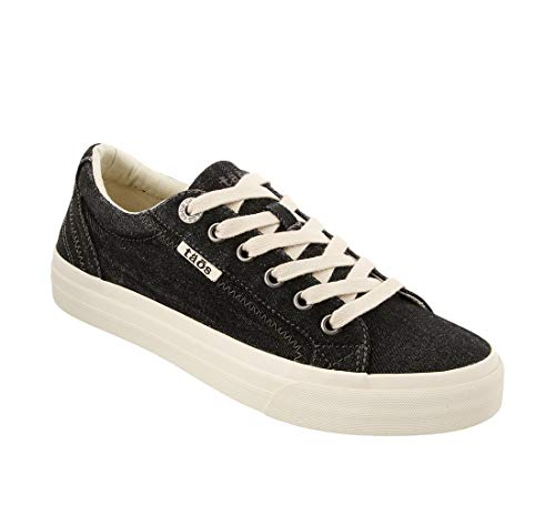 - Taos Footwear Women's Plim Soul Black Denim Sneaker 6 M US