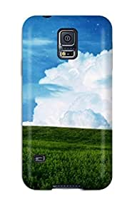 Durable Sky Field Planet Back Case/cover For Galaxy S5