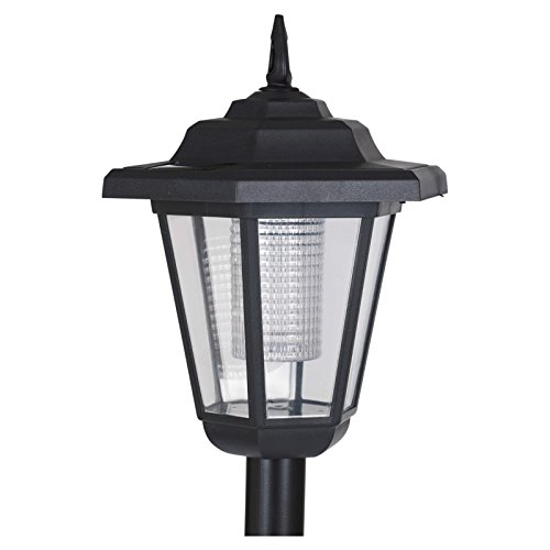 Amazon.com : ProGarden Solar Powered Garden Lamp Driveway Light Outdoor Pathway Led Lantern Post : Garden & Outdoor
