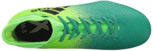 Adidas Mænds X 16,2 Fg Fodbold Sko Sol Grøn / Sort / Core Grøn