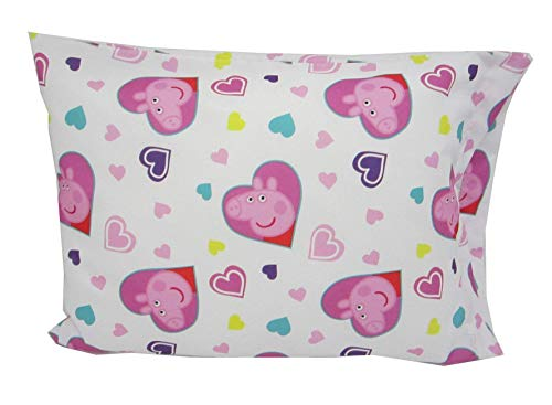 Toddler Pillowcase 16x20 Peppa Pig Fits Size 14x19 Pillow Kids Bedding
