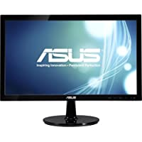 Asus Vs207d. P 19.5 Led Lcd Monitor . 16:9 . 5 Ms . Adjustable Display Angle . 1600 X 900 . 16.7 Million Colors . 80,000,000:1 . Hd+ . Vga . 25 W . Black . Energy Star, Weee, Epeat Gold, Erp, Tco Certified Displays 6.0, Rohs Product Type: Computer Displays/Monitors