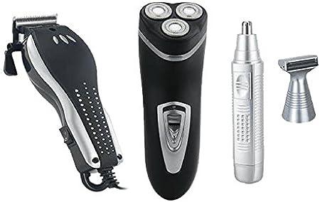 ICARUS Kit 4 en 1 afeitado y cuidado personal para hombre: Amazon ...