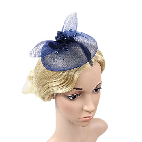 Vimans Handmade Feather Wedding Fascinators product image