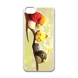 angry birds iPhone 5c Cell Phone Case White DIY Ornaments xxy002_3558117