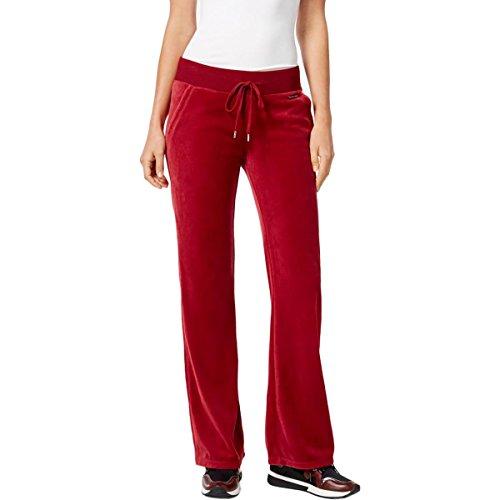Velour Drawstring Pants - 5