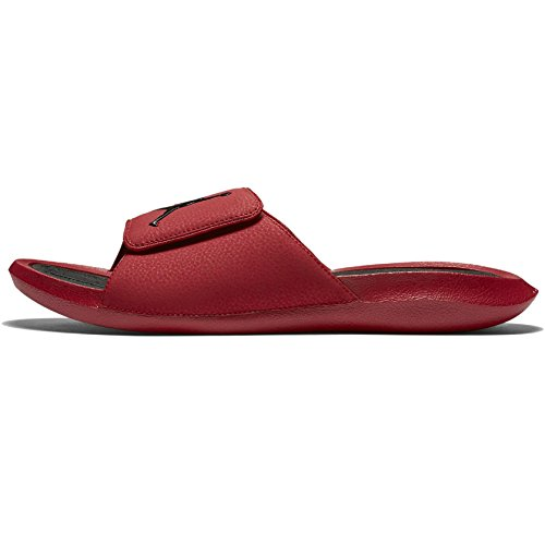 bc8bbee8c5ba Galleon - Jordan Men s Hydro 6 Slide Sandals Aj881473 600 (Gym Red Black