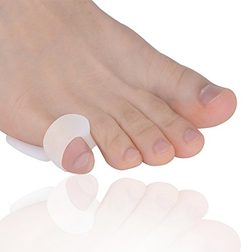 Bunionette Corrector & Tailor's Bunion Relief Protector Kits, Relieve Pain from - Overlapping Pinky Toes -Little Toe Separators Spacers Straighteners Splint by Dr.Koyama (Image #4)