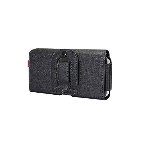 Lordwey® 5.2inch universal Doble teléfono Funda de cinturón, horizontal cuero de la PU caja de la cartera de la cintura para Samsung S7/Huawei P9/Redmi 4