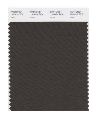 PANTONE SMART 19-0614X Color Swatch Card, Wren (Building Wren)