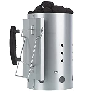 Bruzzzler - Chimenea de Encendido con Mango de Seguridad – Encendedor de Barbacoa de Carbón 31 x 19,5 x 30,5 cm