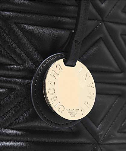 yh60a Women's 80001 Emporio nero Black Bags Armani Y3d115 Shopping HqnFFzwX