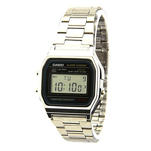 Casio Classic A158WA-1 Stainless Steel Watch