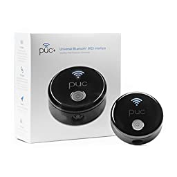 puc+ The Universal Bluetooth MIDI interface for musicians who make music on an iPhone, an iPad, or a Mac