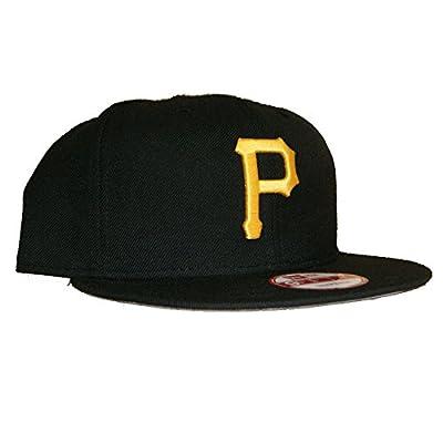 New Era 950 Pittsburgh Pirates Grey Bottom Snapback In Black O/S