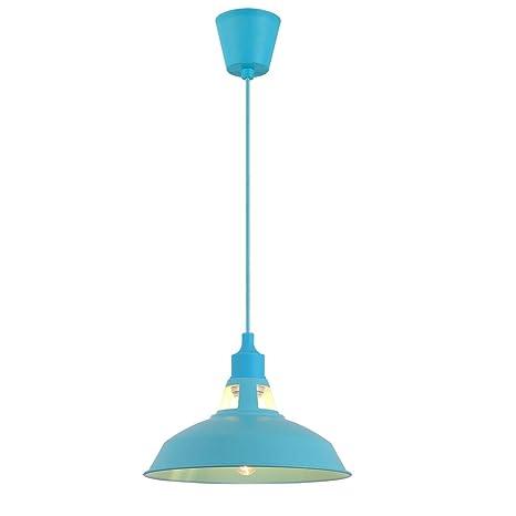 Splink Modern E27 Lámpara de techo colgante con pantalla de ...