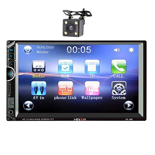 een Digital Car Multimedia in-Dash MP5 Playe+Rear View Camera ()