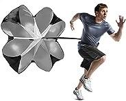 MioCloth Running Speed Chute Resistance Parachute 140cm Powerchute Power Training Umbrella Sprint Soccer Train