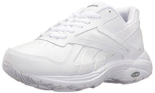 Grey Max D WD DMX V White D Ultra Reebok Walking Flat Wide Women's Shoe IxYPpp
