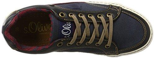 s.Oliver 53100 - Zapatillas de casa Niños Azul (Navy)