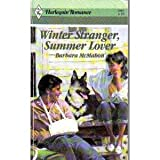 Front cover for the book Winter Stranger, Summer Lover by Barbara McMahon
