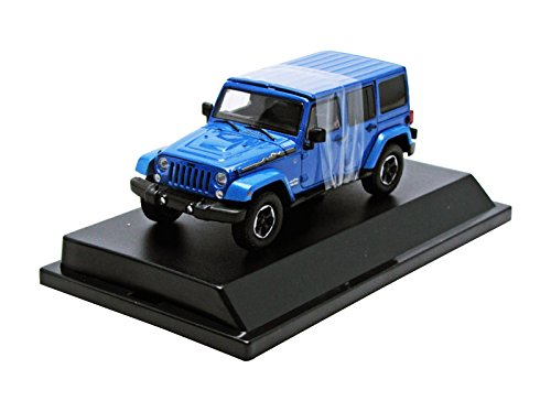 1/43 2014 Jeep Wrangler Unlimited Polar Edition Hard Top (ハイドロブルー) 86064