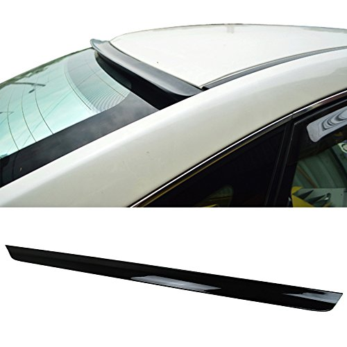 Pre-Painted Roof Spoiler Fits 2009-2019 Nissan 370Z   2DR Roof Spoiler Painted # KH3 Super Black Other Color Available   by IKON MOTORSPORTS   2010 2011 2012 2013