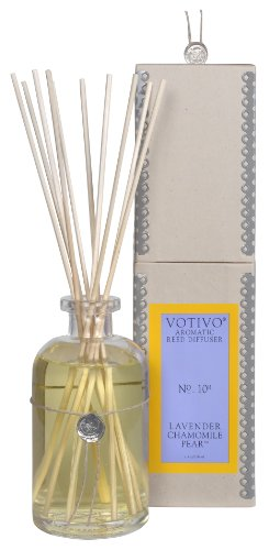 Reed Diffuser Lavender Chamomile Pear Aromatic Reed Diffuser # 10R by Votivo