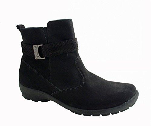 283 Schwarz Ladies black Holma 001 589816 Boot Waldläufer wzBq1