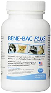 Bene-Bac Plus Prebiotic Pet Powder, 4-1/2-Ounce