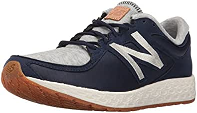 New Balance Women's Zante Sportstyle Shoe, Navy/Grey, 5 B US