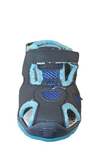 sherry-sandales nu pieds-bleu-garçon