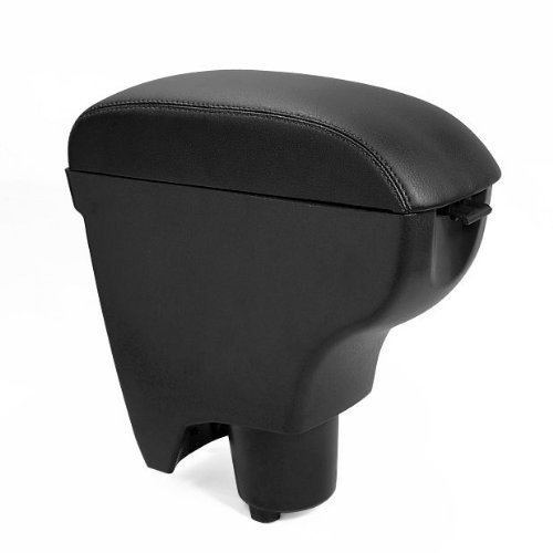 leather black console center armrest for toyota yaris 06 10 2006 2007 2008 20. Black Bedroom Furniture Sets. Home Design Ideas