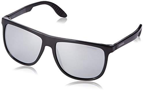 Carrera CA5003SPS Square Sunglasses,Shiny Matte Black,55 - Carrera Sunglasses 5003