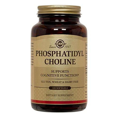 Solgar Phosphatidyl Choline Softgels 100 420mg softgel capsules