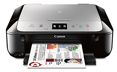 Canon MG6821 Wireless All-In-One Printer with Scanner and Copier: Mobile and Tablet Printing with Airprint and Google Cloud Print compatible
