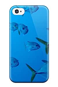 Hot Fish Animal Fish First Grade Tpu Phone Case For Iphone 4/4s Case Cover