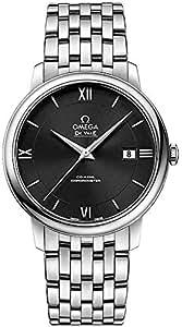 Omega De Ville Prestige Black Dial Men's Watch 424.10.40.20.01.001