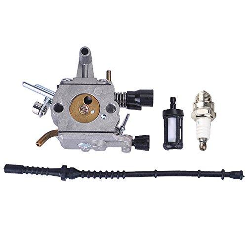 Savior Carburetor Fuel Filter Fuel line Spark Plug Kit fo...