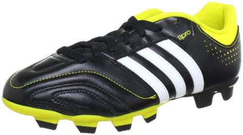 adidas Performance 11Questra TRX FG - Zapatos de fútbol de material sintético hombre Negro - negro/blanco/amarillo