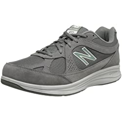 New Balance Men's MW877 Walking Shoe, Grey, 8 XW US