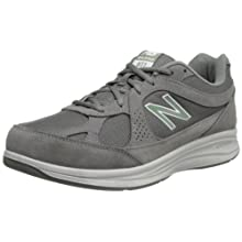 New Balance Men's MW877 Walking Shoe, Grey, 13 XW US