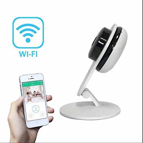 IP Security Camera Intelligente RauschunterdrüCkung Kompakte Moderne Blick ,integrierte IR LED,WiFi ip kamera Alarmanlagen für Tier/Kinderfrau/Ältere einschalten/spielen Pan/ Tilt fernbedingte Strömung Videokamera