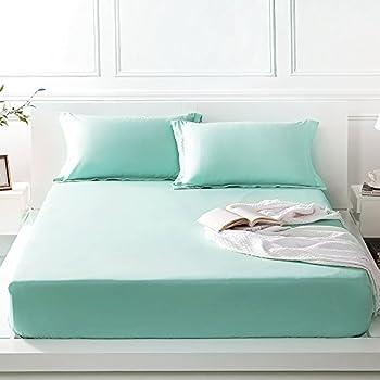 fadfay super soft bed sheet set luxury sheets 100 - Tencel Sheets