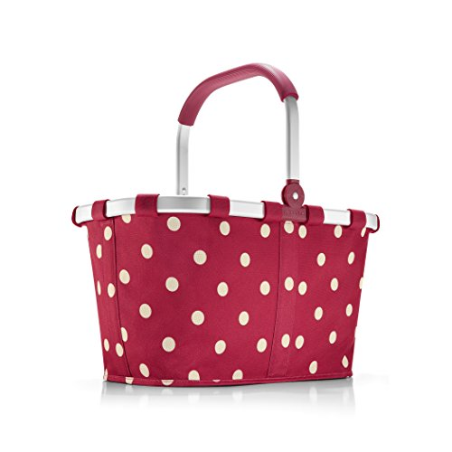 reisenthel Carrybag Fabric Picnic Tote, Ruby Dots