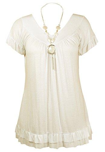 FATALFASHION - Camisas - para mujer crema