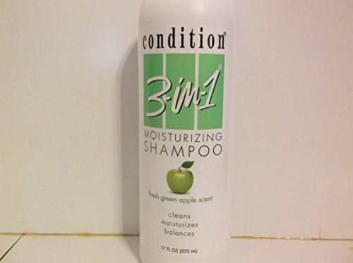 'Condition 3-in-1 Moisturizing Shampoo, Fresh Green Apple Scent, 17 fl oz